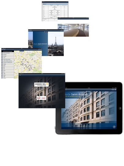 Geodio - Applications immobilieres tablettes